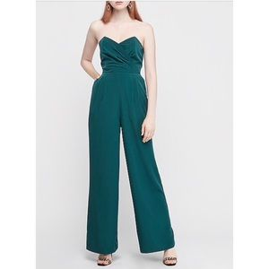 NWT Express Green Jumpsuit
